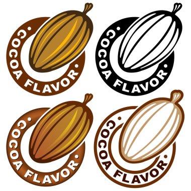 Cocoa Flavor Seal / Mark