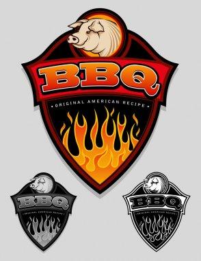 BBQ - Original American Recipe Seal / Badge