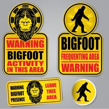 Bigfoot Warning Signs