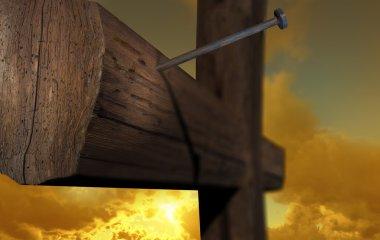 The cross of Golgatha