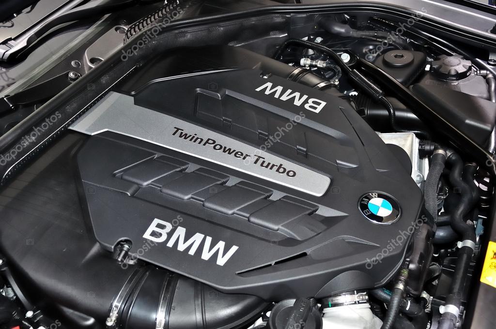 Detail of BMW engine