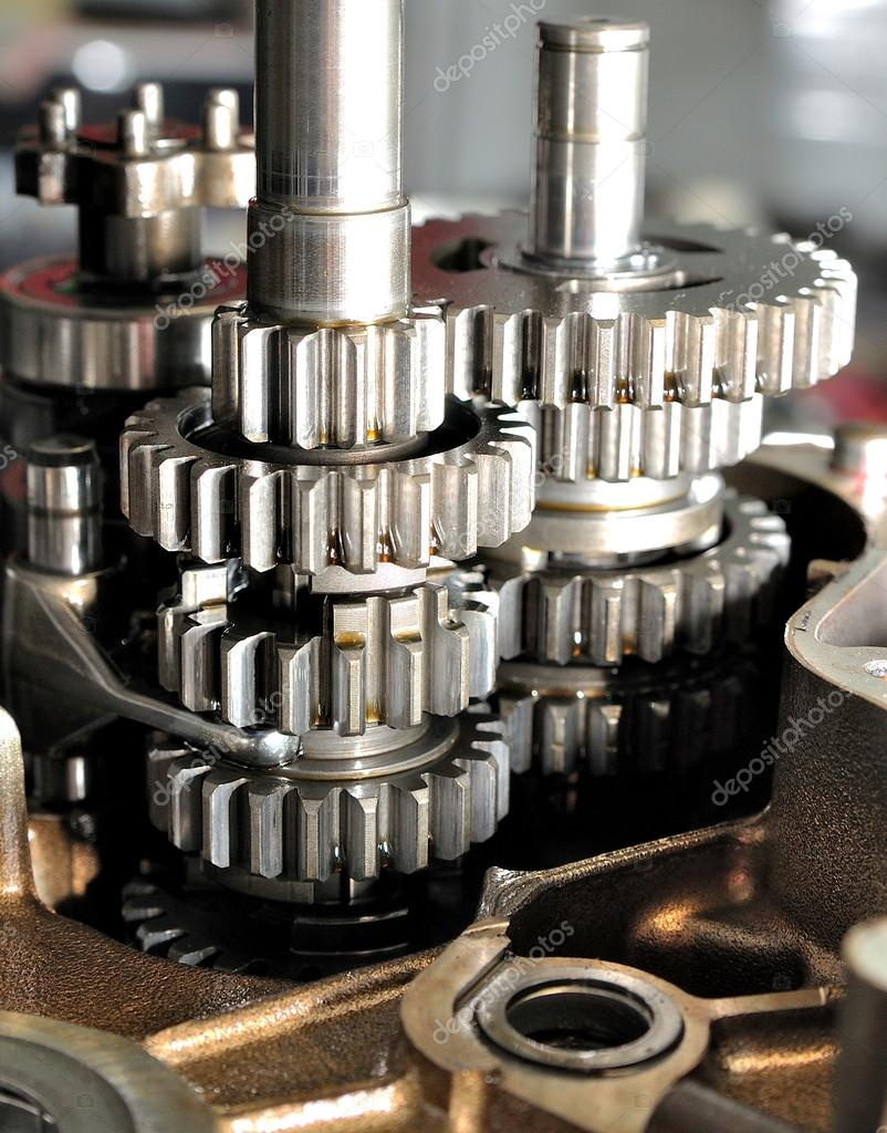 Motorcycle gearbox inside. ⬇ Stock Photo, Image by © lorakss #19441845   Gear Box Of Motorcycle      Depositphotos
