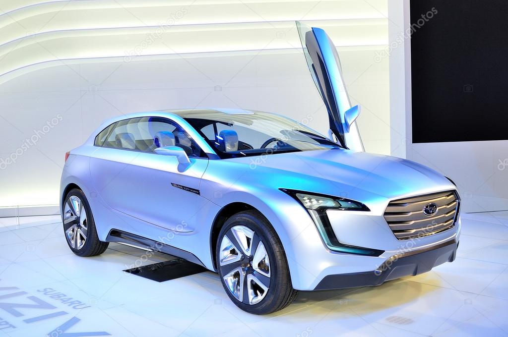 Subaru Viziv Concept Car Stock Editorial Photo Lorakss 32825023