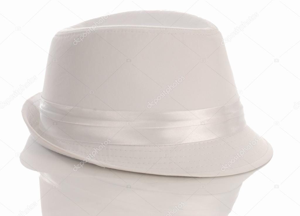 white mens dress hat — Stock Photo © willeecole  24138871 59bbe5e4190
