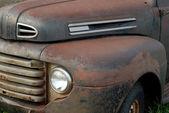 Zavřete podrobnosti o zrezivělý z ročníku vyzvednout automobil