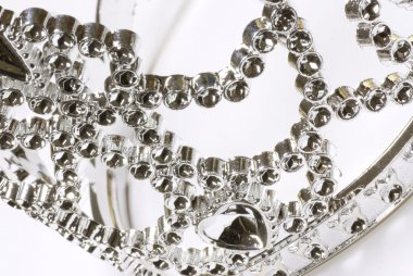 tiara or crown details on a white background
