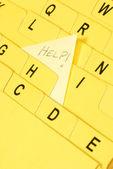 Abecední index karty s pomoci Poznámka vychází z velké písmeno h