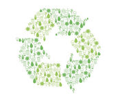 Fotografie Recycling Symbole