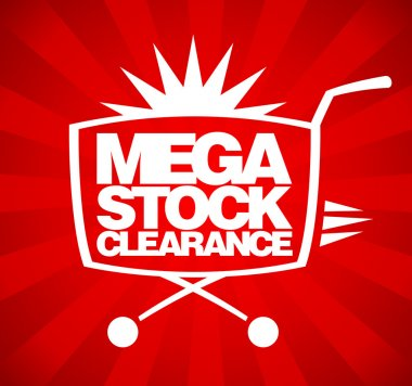 Mega stock clearance design.
