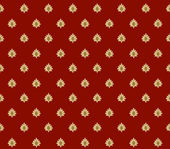 Red with gold crowns background