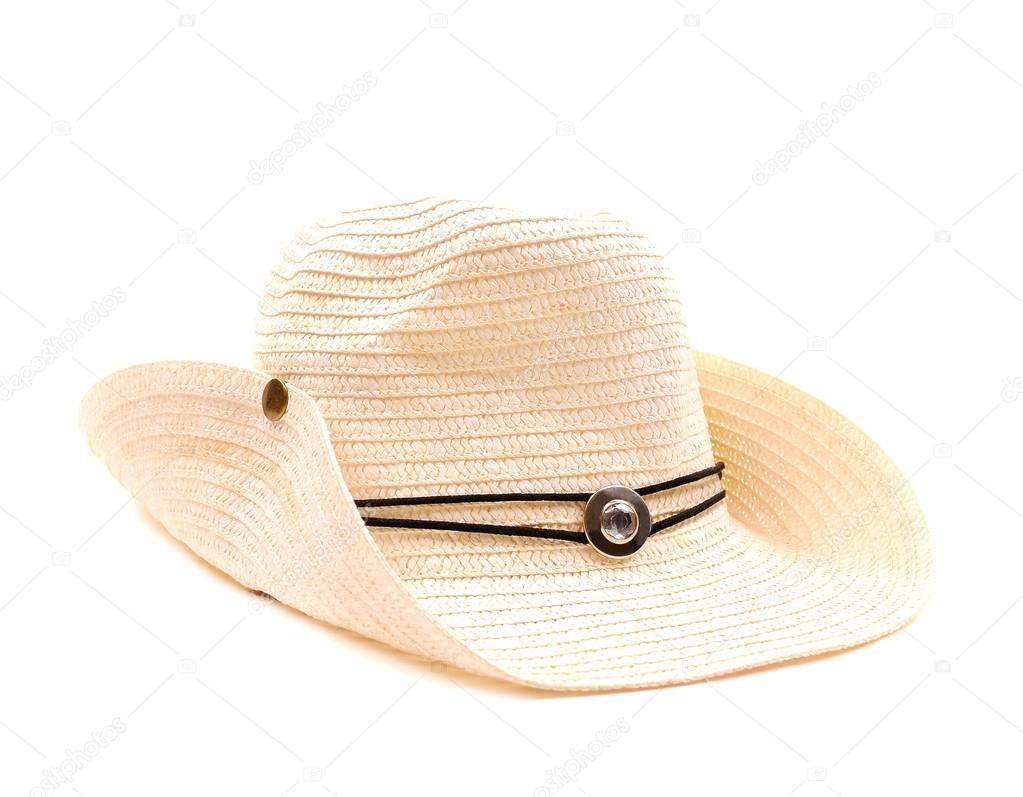 bílý kovbojský klobouk — Stock Fotografie © slena  14201349 db8fe575f1