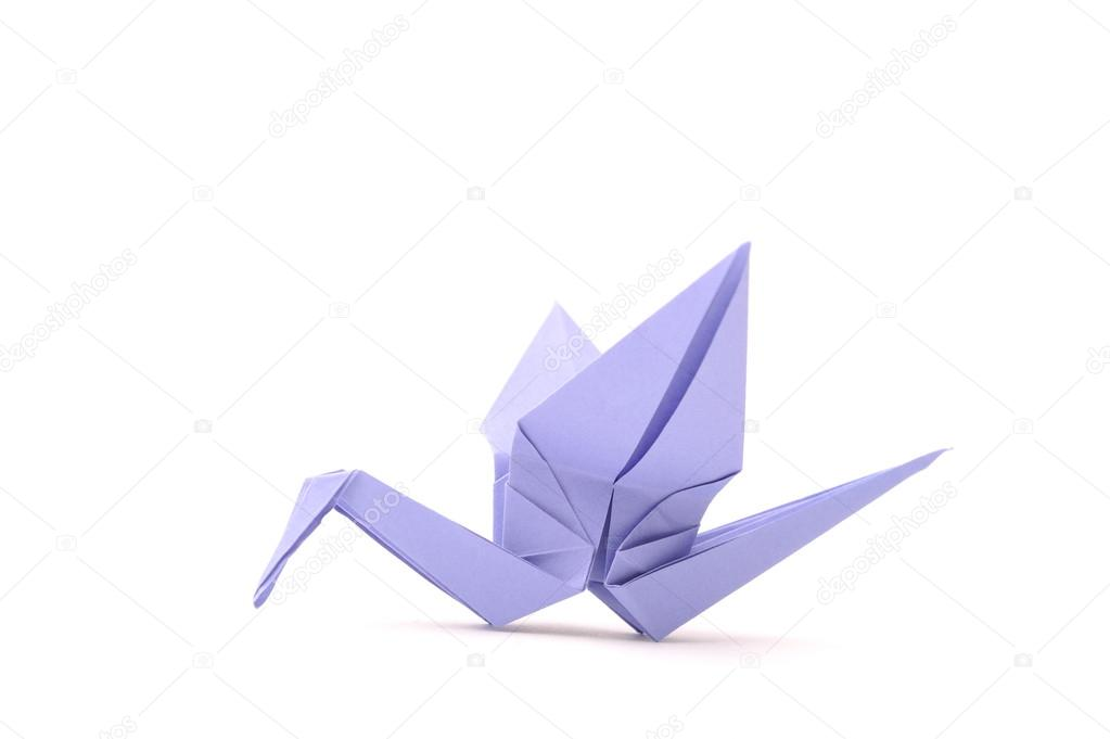 Origami bird  Child paper articles  — Stock Photo © slena #14207082