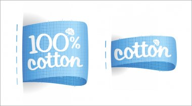 Clothing labels for cotton.