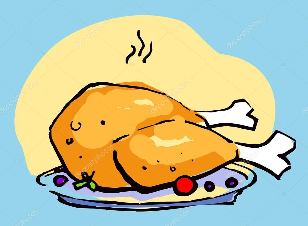 Fried Chicken Stock Vector Slena 14203874