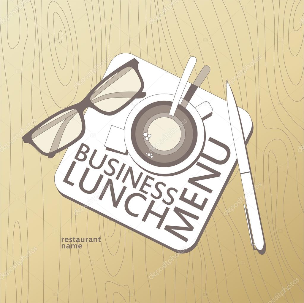 Business lunch menu template stock vector slena 14206722 business lunch menu card design template vector by slena wajeb Images