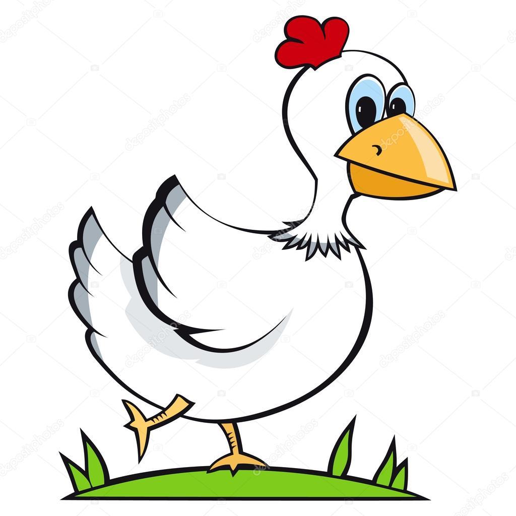 pollo corriente — Archivo Imágenes Vectoriales © slena #14206833