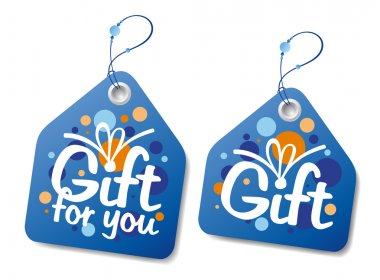 Gift labels.