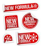 Fényképek új formula matricák