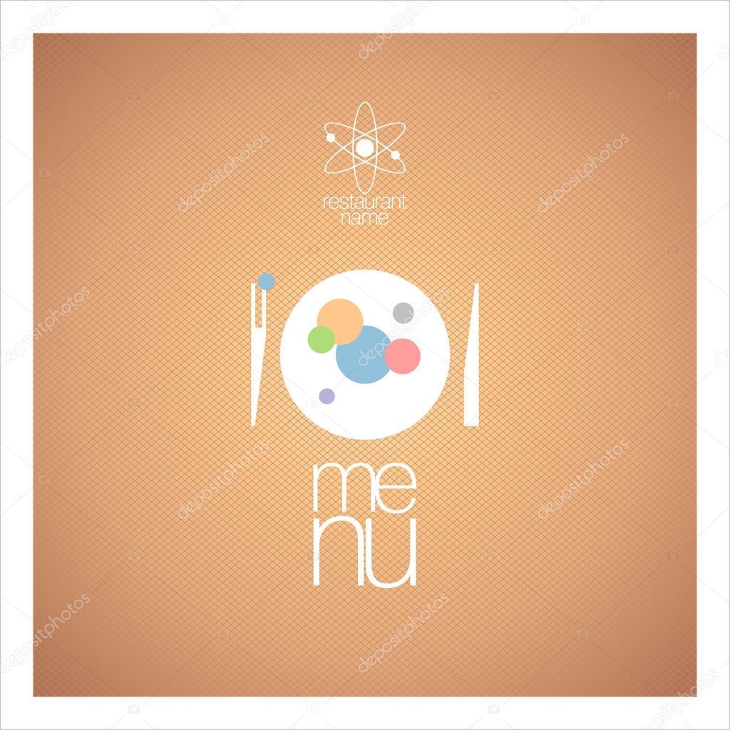 plantilla de diseño de tarjeta de menú de restaurante — Vector de ...