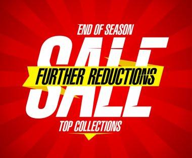 End of season sale design