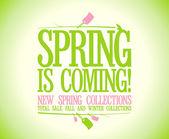 Jaro je nadcházející design