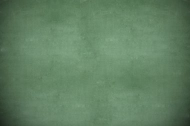 Blank green chalkboard, blackboard texture with copy space