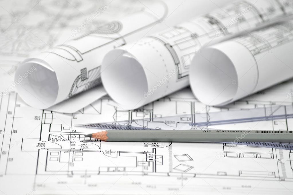 Mont n de dise o arquitect nico y proyecto los planos for Blueprint photo gallery