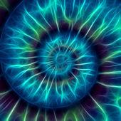 abstraktes Spiralmuster. Fibonacci-Muster