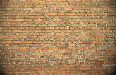 Old brick wall. Brick texture.