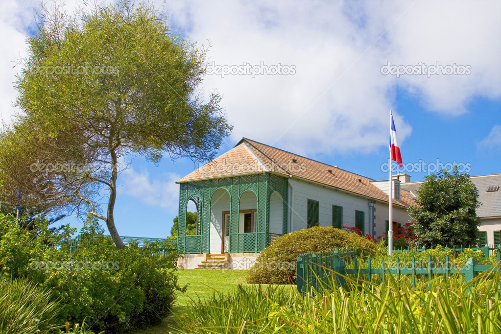 Longwood House Which Was The Residence Of Napoleon During His Exile To St  Helena. U2014