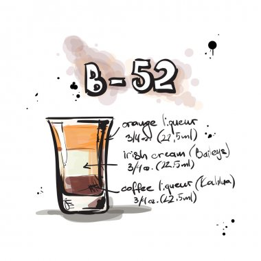 Cocktail B-52