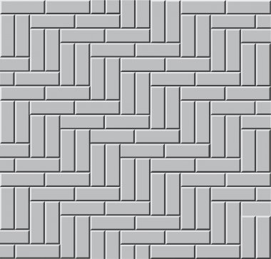 The gray paving stone, seamless, pattern