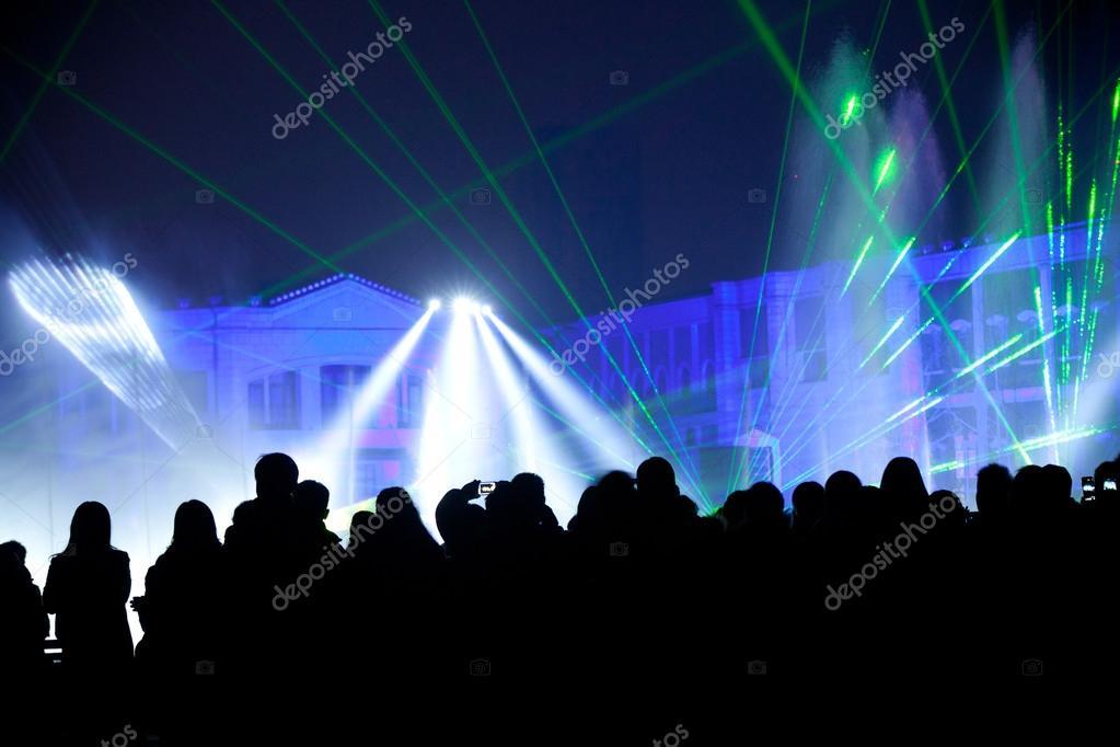 podium verlichting — Stockfoto © wangsong #40742821