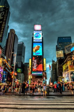 Times Square at night - New York, USA