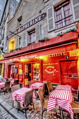 Cafe on Montmartre