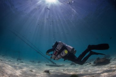Technical diving skills