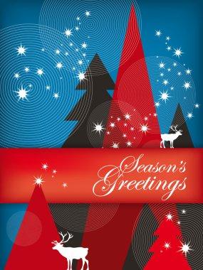 Holiday Illustration: Seasons Greetings