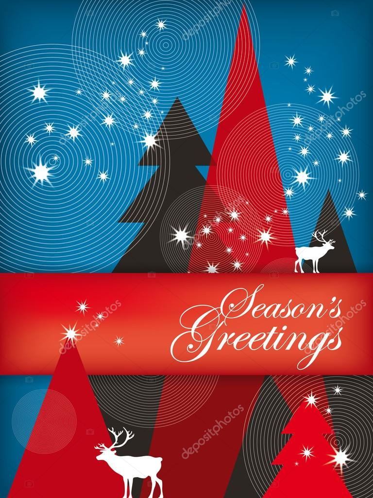 Seasons Greetings Stock Vectors Royalty Free Seasons Greetings