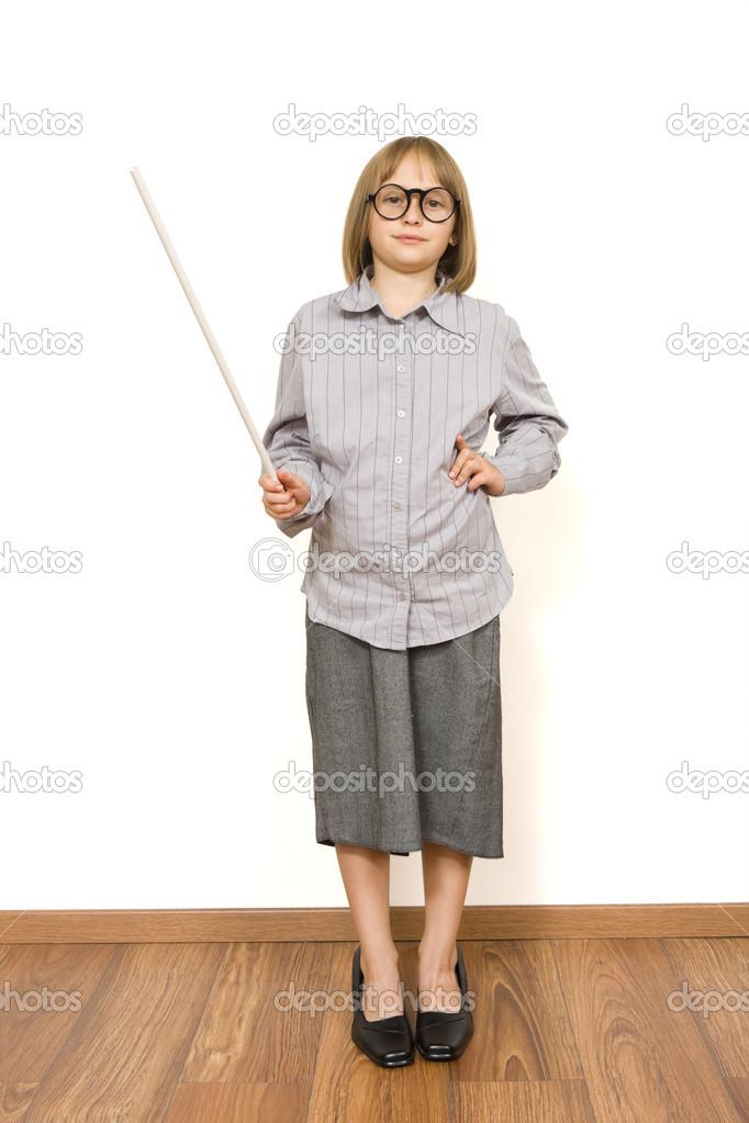 ca9b4435226a7 Niño vestido de adulto — Fotos de Stock © Lighthunter  14033629