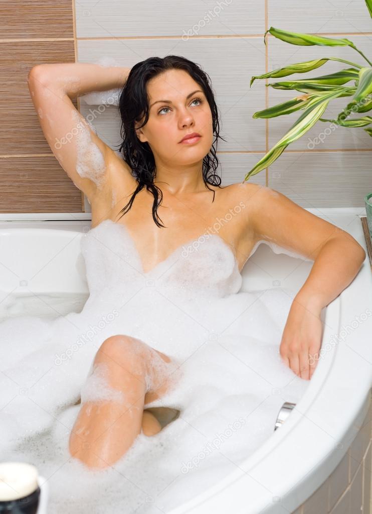 22cd963f893 Foam-bath — Stock Photo © Lighthunter #14035120