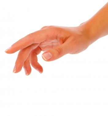Woman Hand Reaching