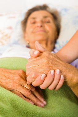 Care love and trust to elder people