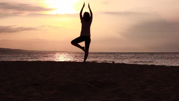 Silhouette of yoga