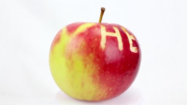 zdraví jablko