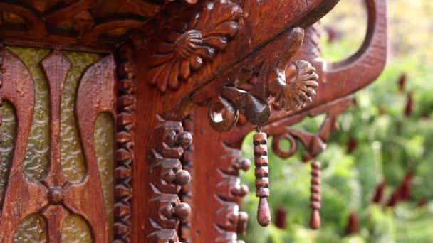 Čínská dřevěné ozdoby