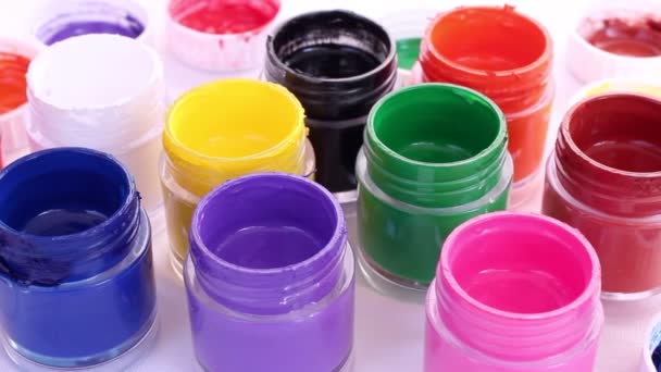 Jars with different colors