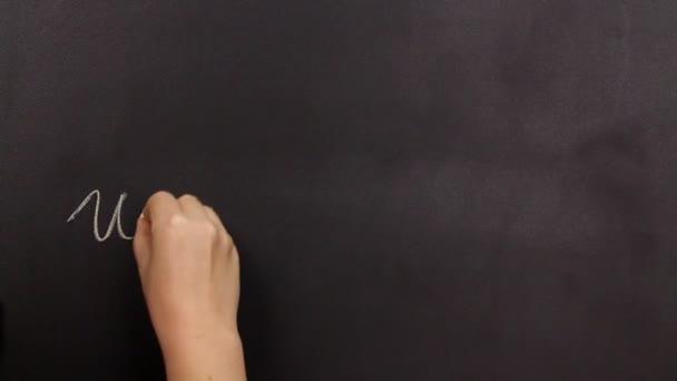 pozitivní myšlení, psaní na tabuli úspěšné