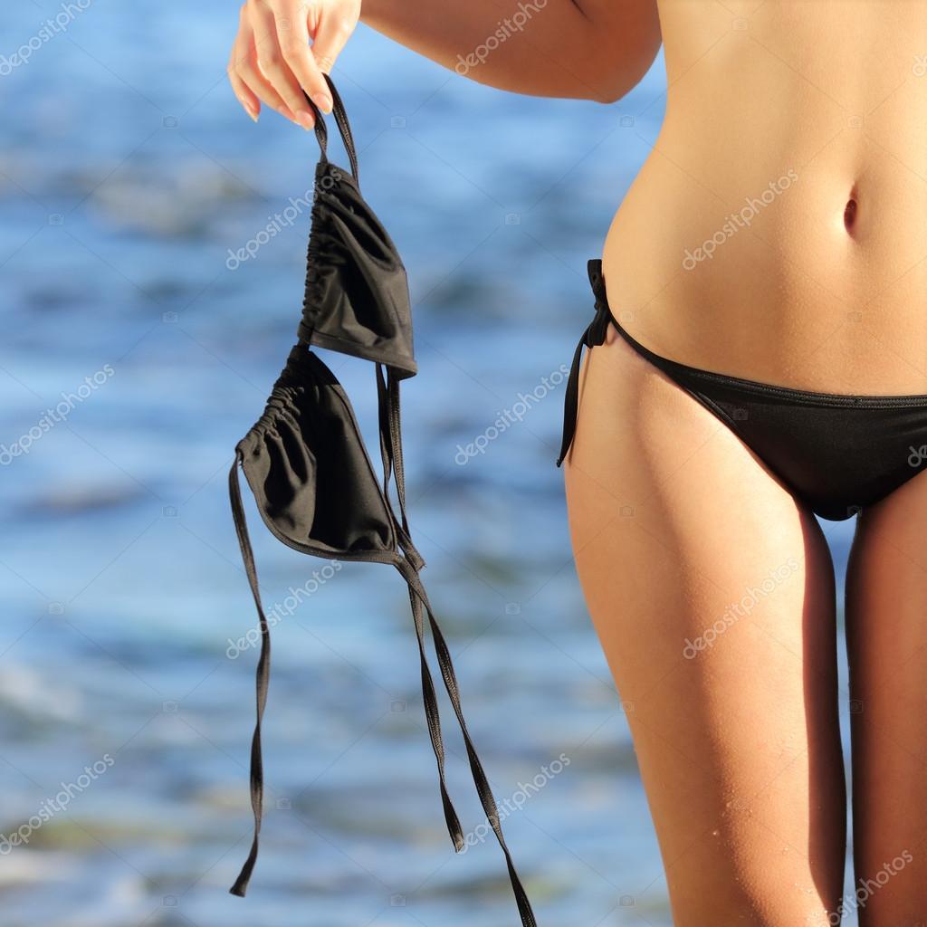 Bikini Close Up Photography