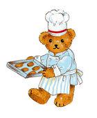 Der Kuchenhandwerker des Bären