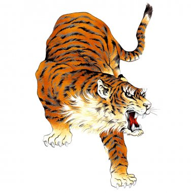 Japanesque tiger